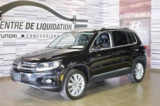 Used 2015 Volkswagen Tiguan HIGHLINE+AWD+CUIR+TOIT+GPS for sale in Laval, QC