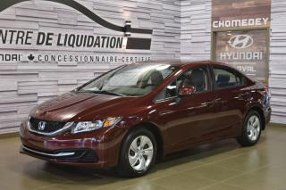 Used 2015 Honda Civic LX for sale in Laval, QC