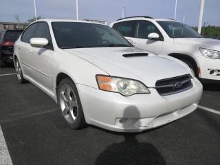 Used 2006 Subaru Legacy 4dr Sdn 2.5GT Limited Manual for sale in Rivière-Du-Loup, QC