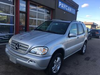 Used 2005 Mercedes-Benz ML-Class 3.7L Special Edition for sale in Kitchener, ON