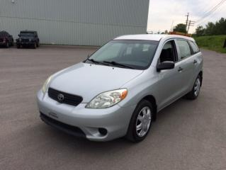 Used 2006 Toyota Matrix Familiale 5 portes, boîte automatique for sale in Quebec, QC