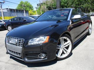 Used 2010 Audi S5 S5 CONVERTIBLE|NAVI|111KMS|BLACK ON BLACK !!! for sale in Burlington, ON