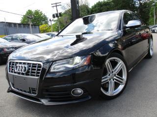 Used 2011 Audi S4 S4 PREMIUM|NAVIGATION|BACK-UP CAM|AUTO !! for sale in Burlington, ON