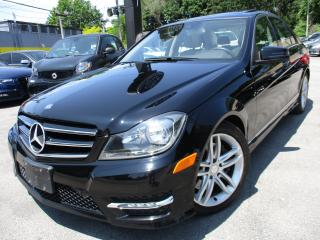 Used 2014 Mercedes-Benz C-Class C300 4MATIC|NAVIGATION|BACK-UP CAM|28KM ONLY for sale in Burlington, ON