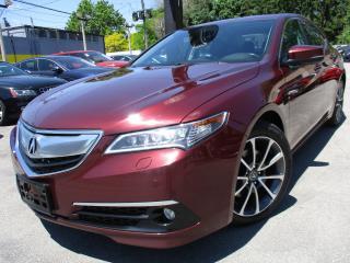 Used 2015 Acura TLX TLX ELITE PKG|V6|NAVIGATION|BACK-UP CAM|SUNROOF for sale in Burlington, ON