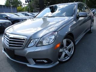 Used 2010 Mercedes-Benz E-Class E350 4MATIC|22KM ONLY|ONE OWNER|NAVI|LIKE NEW for sale in Burlington, ON