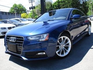 Used 2016 Audi A5 2.0T QTRO S-LINE|NAVI|60KM|ONE OWNER|SUNROOF !!! for sale in Burlington, ON