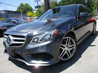 Used 2015 Mercedes-Benz E-Class E550 4MATIC|NAVIGATION|80KM|PANORAMA|V8 !! for sale in Burlington, ON