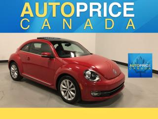 Used 2015 Volkswagen Beetle 1.8 TSI Comfortline PANOROOF|HALF LEATHER HALF CLOTH for sale in Mississauga, ON