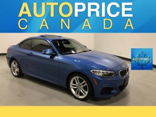Used 2015 BMW 2-Series 228 i xDrive M-SPORT PKG|NAVIGATION|MOONROOF for sale in Mississauga, ON