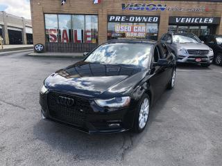 Used 2014 Audi A4 2.0 Komfort/SUNROOF for sale in North York, ON