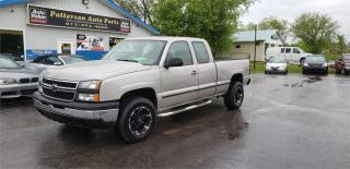 Used 2006 Chevrolet Silverado 1500 4x4 173k safetied for sale in Madoc, ON