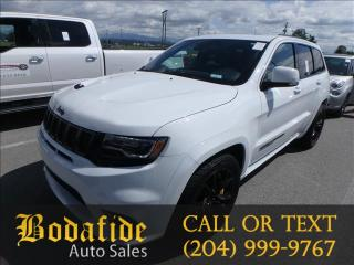Used 2018 Jeep Grand Cherokee Trackhawk for sale in Headingley, MB