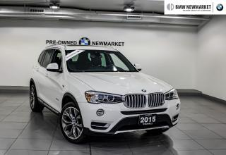 Used 2015 BMW X3 xDrive28d -PREM PKG|NAV|PARKING CAM| for sale in Newmarket, ON