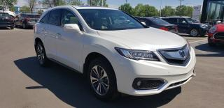 Used 2016 Acura RDX Elite at Heated Seats, Leather, Sunroof, Blind Spot, Active Lane for sale in Regina, SK