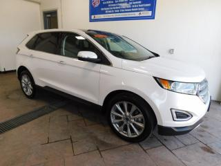 Used 2018 Ford Edge TitaniumLEATHER NAVI SUNROOF for sale in Listowel, ON