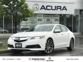 Used 2015 Acura TLX 3.5L SH-AWD w/Tech Pkg Navi, Backup Cam, Blind Spot Ind for sale in Markham, ON