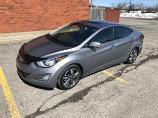 Used 2014 Hyundai Elantra Limited for sale in Ottawa, ON