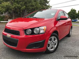 Used 2012 Chevrolet Sonic Berline LS 4 portes for sale in Drummondville, QC