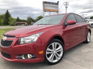 Used 2012 Chevrolet Cruze LT Turbo RS Appearance Pkg in Auto with Sunroof, Bluetooth, Pwr Seat, Steering Wheel Controls and Alloys with for sale in Kemptville, ON