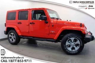 Used 2018 Jeep Wrangler JK Unlimited Sahara LEATHER for sale in Regina, SK