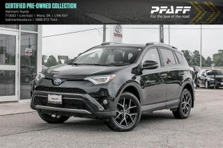 Used 2017 Toyota RAV4 Hybrid SE for sale in Orangeville, ON