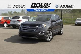 Used 2017 Ford Edge Titanium for sale in Prince Albert, SK