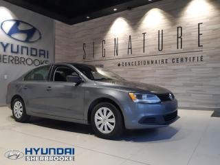 Used 2013 Volkswagen Jetta TRENDLINE+BANCS CHAUFFANTS+GRP ÉLECTRIQU for sale in Sherbrooke, QC