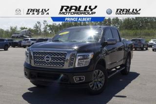 Used 2017 Nissan Titan Platinum Reserve for sale in Prince Albert, SK