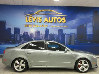 Used 2007 Audi A4 S-LINE PACKAGE V-6 3.2 LITRES 6 VITESSE for sale in Lévis, QC