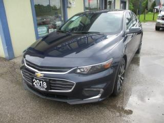 Used 2018 Chevrolet Malibu LIKE NEW LT MODEL 5 PASSENGER 1.5L - ECO-TEC.. TOUCH SCREEN.. BACK-UP CAMERA.. WI-FI HOTSPOT.. POWER SUNROOF.. for sale in Bradford, ON