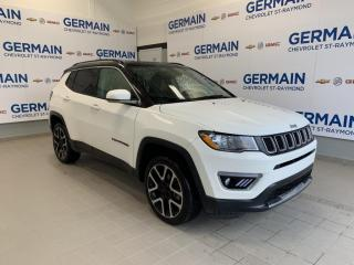 Used 2017 Jeep Compass Ltd-Toit Pano-Gps for sale in St-Raymond, QC