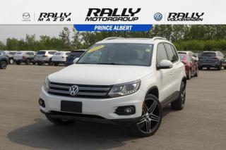 Used 2014 Volkswagen Tiguan COMFORTLINE for sale in Prince Albert, SK
