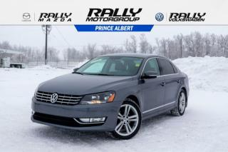 Used 2013 Volkswagen Passat HIGHLINE for sale in Prince Albert, SK