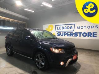 Used 2017 Dodge Journey CROSSROAD AWD * 7 Passenger * : Leather-faced bucket seats * 225/55/19 Winter Tires * 19 Alloy Rims * UConnect * A/C w/ tri-zone auto. temp. control for sale in Cambridge, ON