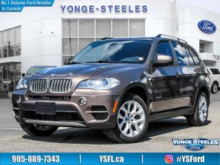 Used 2013 BMW X5 35D for sale in Thornhill, ON