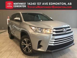 New 2019 Toyota Highlander LE AWD for sale in Edmonton, AB