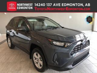 New 2019 Toyota RAV4 Hybrid LE for sale in Edmonton, AB