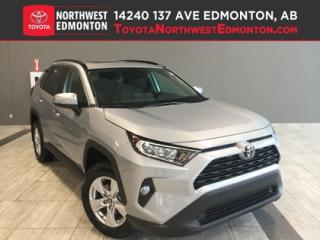 New 2019 Toyota RAV4 AWD XLE for sale in Edmonton, AB