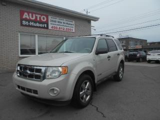 Used 2008 Ford Escape AWD XLT for sale in St-Hubert, QC