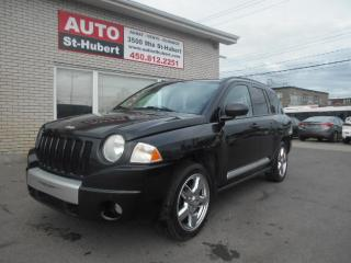 Used 2010 Jeep Compass Limited 4X4 for sale in St-Hubert, QC