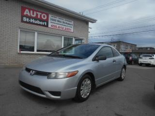 Used 2007 Honda Civic DX-G for sale in St-Hubert, QC