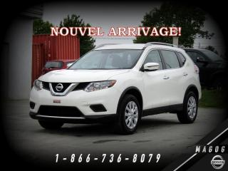 Used 2016 Nissan Rogue S FWD + BLUETOOTH + CAMÉRA + GARANTIE + for sale in Magog, QC