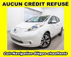Used 2015 Nissan Leaf SL AUDIO BOSE SIÈGES CHAUFFANTS CUIR *NAVIGATION* for sale in Mirabel, QC
