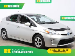 Used 2012 Toyota Prius 5DR HB A/C TOIT for sale in St-Léonard, QC