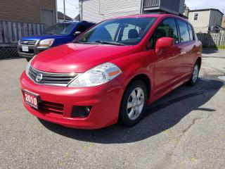 Used 2010 Nissan Versa 5dr HB I4 CVT 1.8 SL for sale in Oshawa, ON