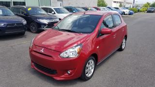 Used 2014 Mitsubishi Mirage SE MAGS | CRUISE | BLUETOOTH | SIÈGES CHAUFFANTS for sale in St-Hubert, QC
