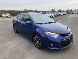 Used 2015 Toyota Corolla S T.ouvrant for sale in Lévis, QC