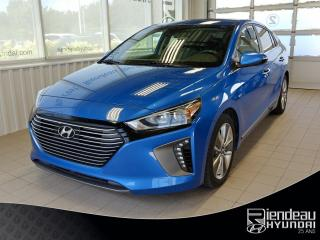 Used 2017 Hyundai IONIQ Limited + TOIT OUVRANT + CUIR for sale in Ste-Julie, QC