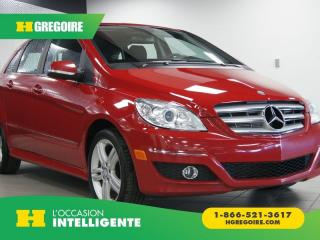 Used 2011 Mercedes-Benz B200 for sale in St-Léonard, QC